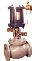 Pneumatic Cylinder Actuator Operated Globe Valve Manufacturers India
