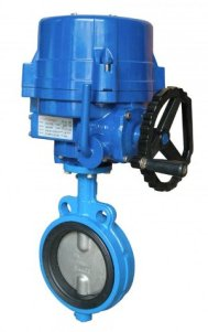 Electrical Actuator Operated Butterfly Valve Manufacturers Exporter in India
