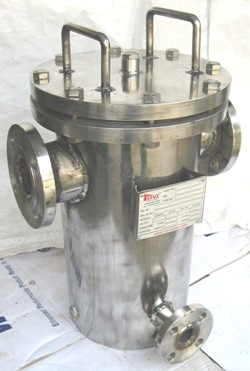 Jacketed Basket Type Strainer Manufacturer Exporter Indiaa
