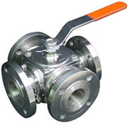 4 Way Ball Valve Manufacturer Exporter Supplier Stokicest India