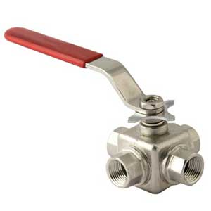 3-Way-Ball-Valve-Screwed-Threaded-End-Manufacturer-Manufacturers-India